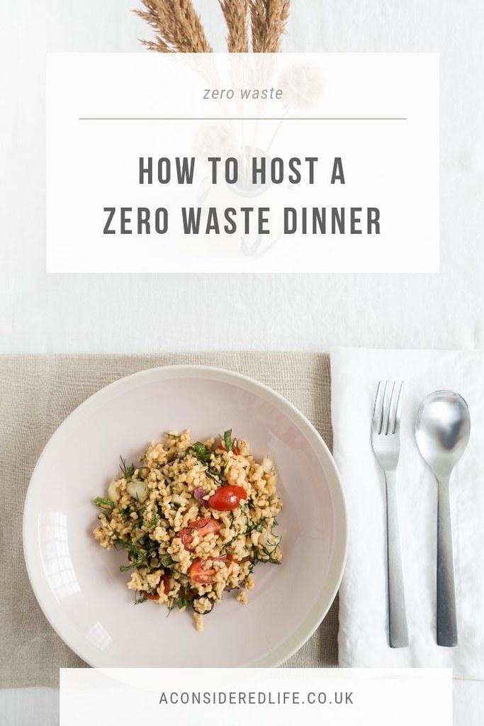 A Zero Waste Dinner Party