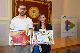 Entrega de los Premios de la promoción 'Diseña tu carpeta'