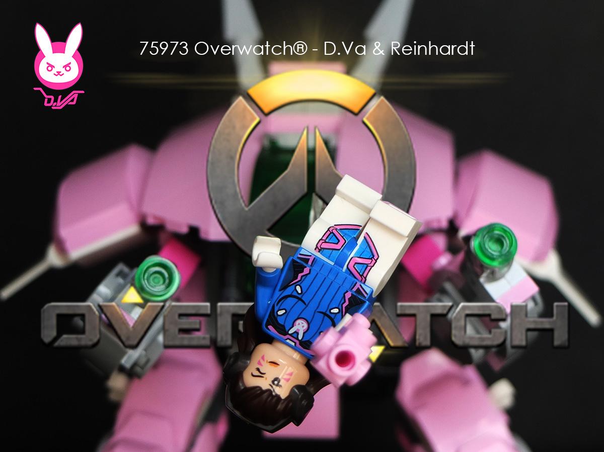 LEGO 75973 Overwatch® - D.Va & Reinhard