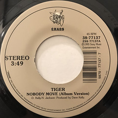 TIGER:NOBODY MOVE(LABEL SIDE-A)