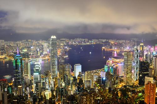 hongkong cityscape lighting nightview thepeak buildings 香港 城市景觀 太平山 建築 夜景 光影 盧吉道 lugardrd