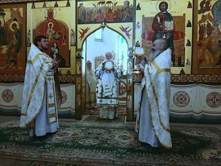 18.06.2019 | Литургия в Хутынском монастыре