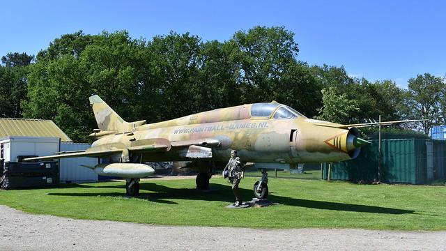 Sukhoi Su.22M-4 c/n 25020 Germany Air Force serial 2513
