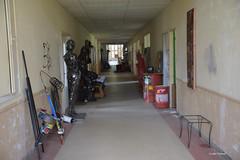 Le grand couloirs des Ateliers V3M