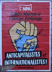 Anticapitalistes et internationalistes !