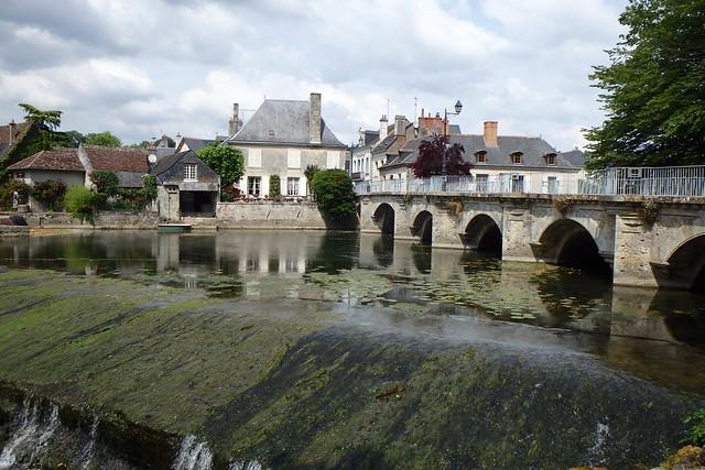 Un angolo di Azay-le-Rideau