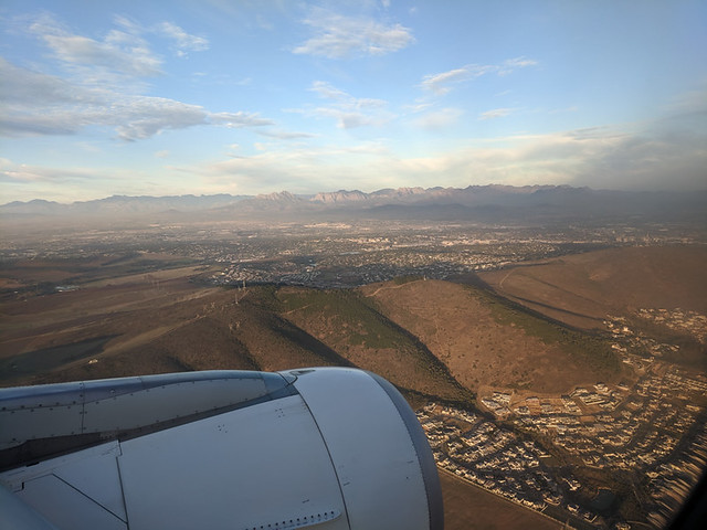 flying into CPT