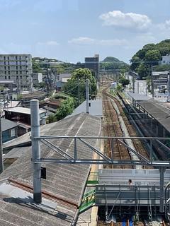 おとなびWEBパスの旅2019 おまけ - 折尾駅 旧立体交差