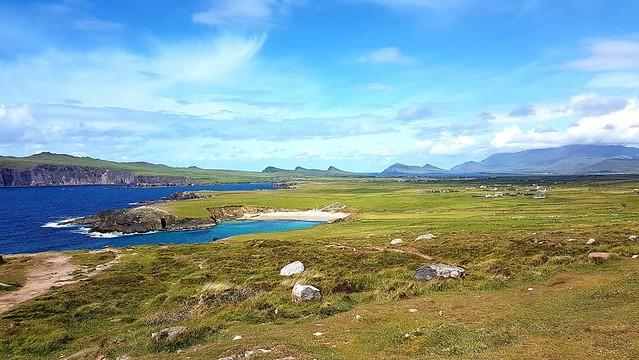 Uno stupendo panorama irlandese