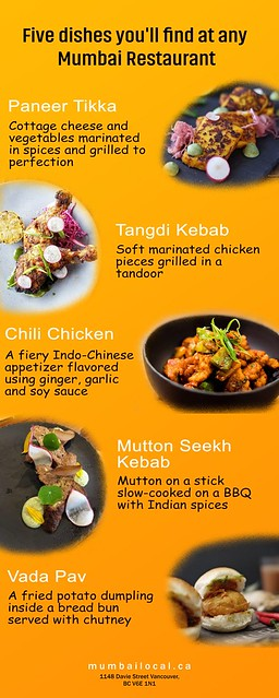 Five Dishes You Can Find at Any Mumbai Restaurant