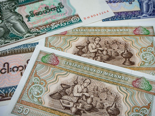 Myanmar Currency - Burmese Kyat | by orgalpari