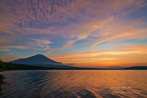 Scene of evening clouds