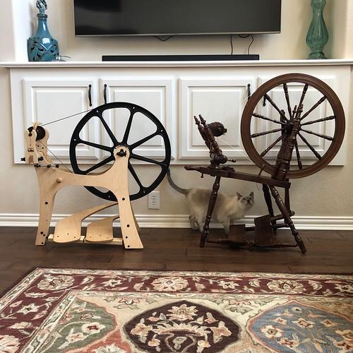 New Flatiron Spinning Wheel