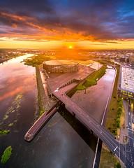 Dramatic sunset | Kaunas aerial #168/365