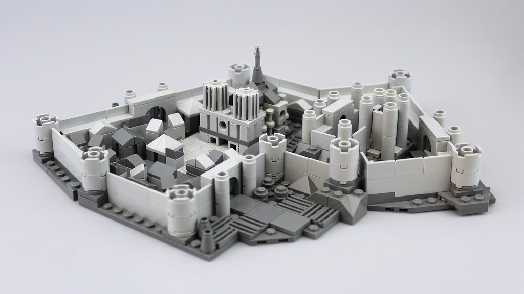 Medieval City (custom built Lego model)