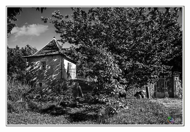la vielle maison du gardien abondonnée.
