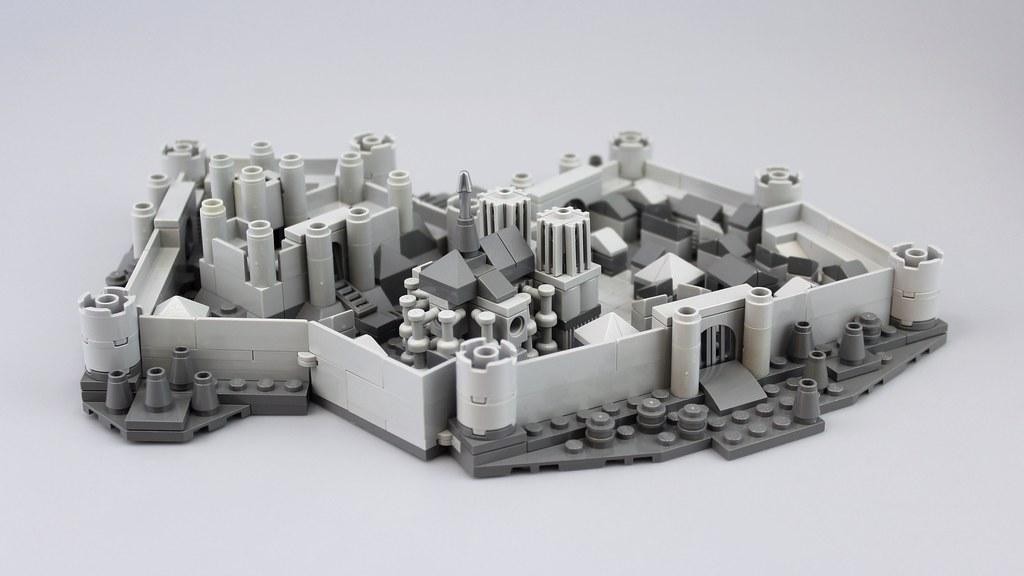 Medieval City Back