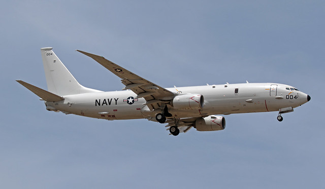 169004 LMML 17-06-2019 United States - US Navy (USN) Boeing P-8A Poseidon CN 44945
