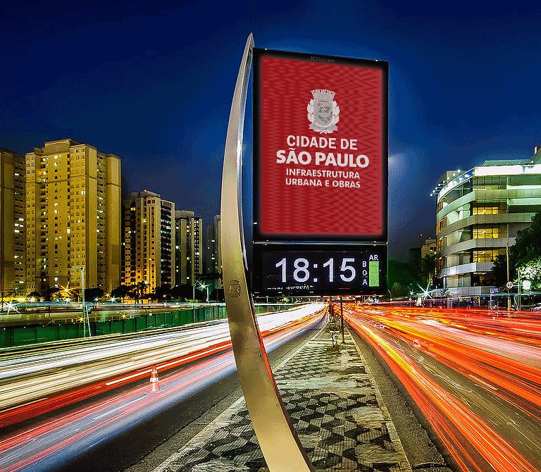 Álbum de fotos: Relógios digitais | Secretaria Municipal de ...