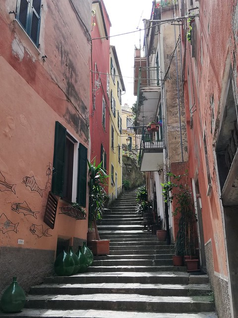 STAIRS CINQUE TERRE