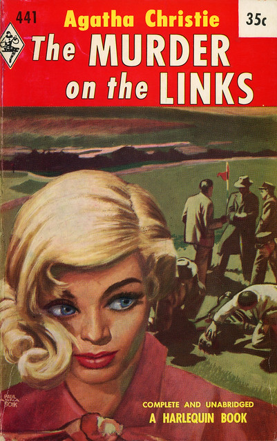 Harlequin Books 441 - Agatha Christie - The Murder on the Links