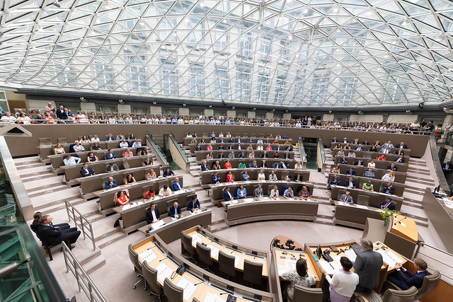 18 juni 2019 - Eedaflegging Vlaamse volksvertegenwoordigers
