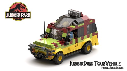Jurassic Park Ford Explorer Tour Vehicle