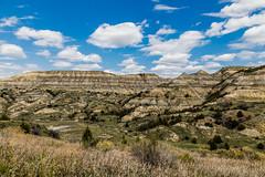 Theodore-Roosevelt National Park - Felsen