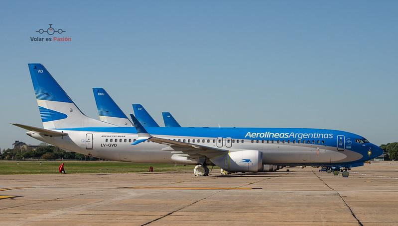 Aerolíneas Argentinas B737 MAX