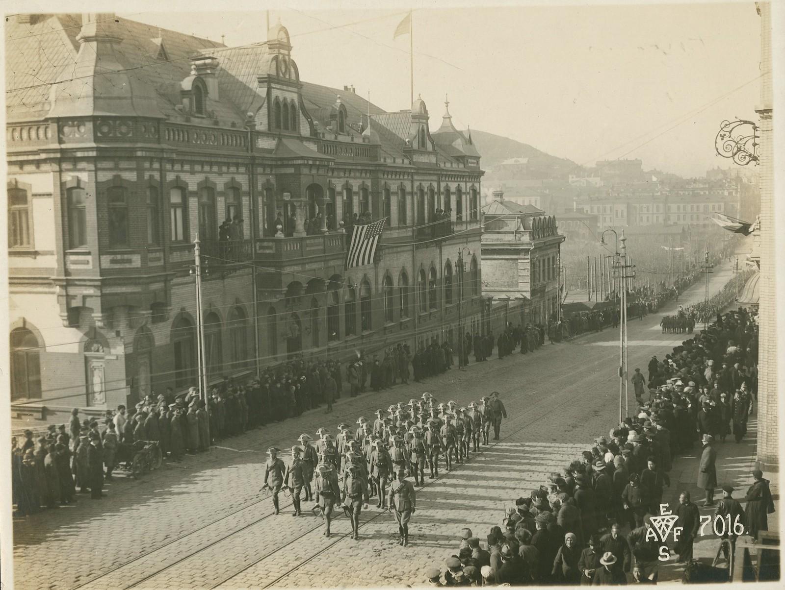 20. 1918. Италия прислала на Дальний Восток воинскую часть с вычурным названием «Легион освобождения Сибири». 15 ноября.