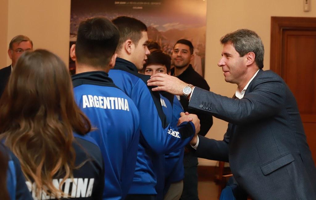 2019-06-18 PRENSA: Uñac Recibió a Selección Argentina de Hockey sobre Patines