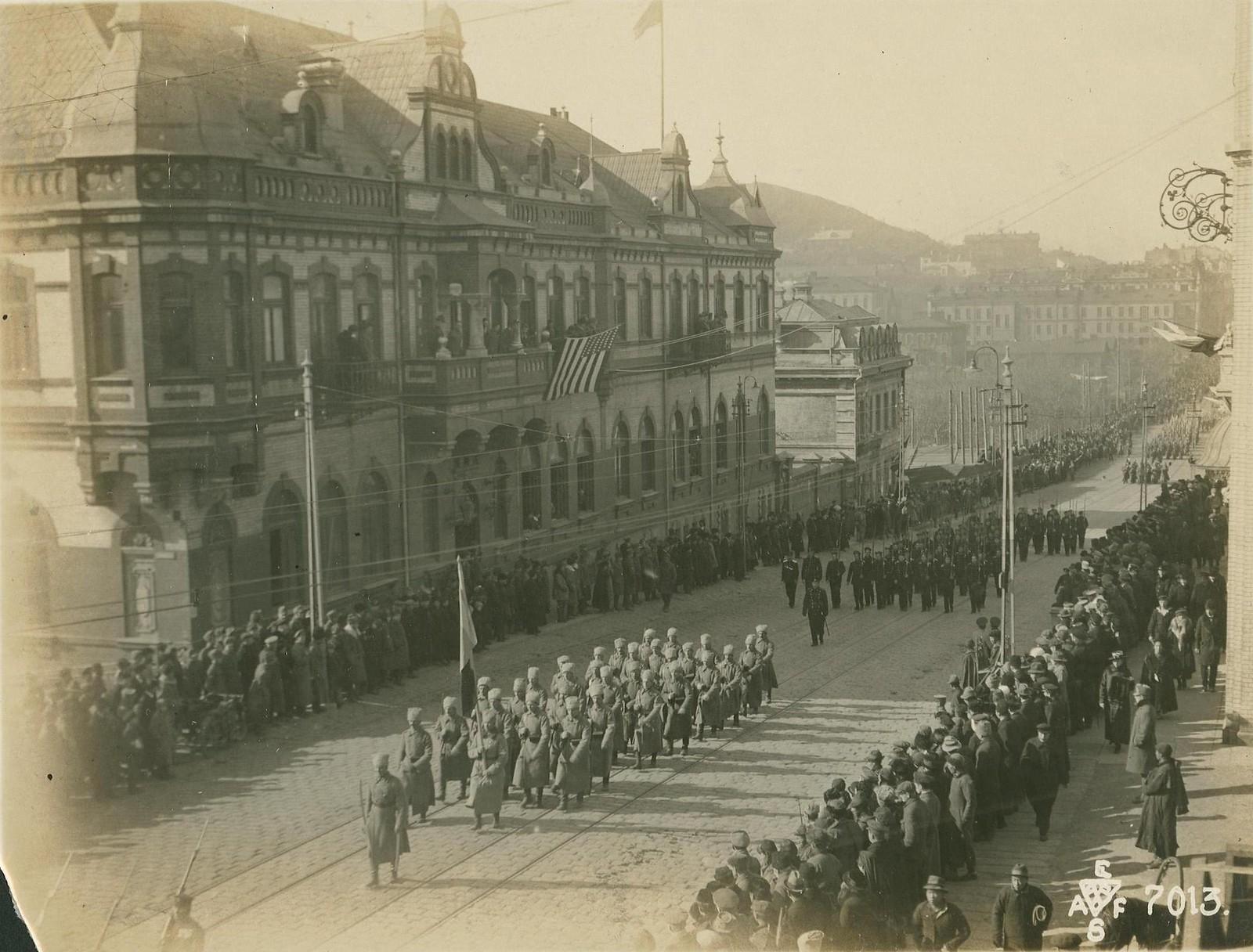 25. 1918. Румынские военнослужащие. 15 ноября