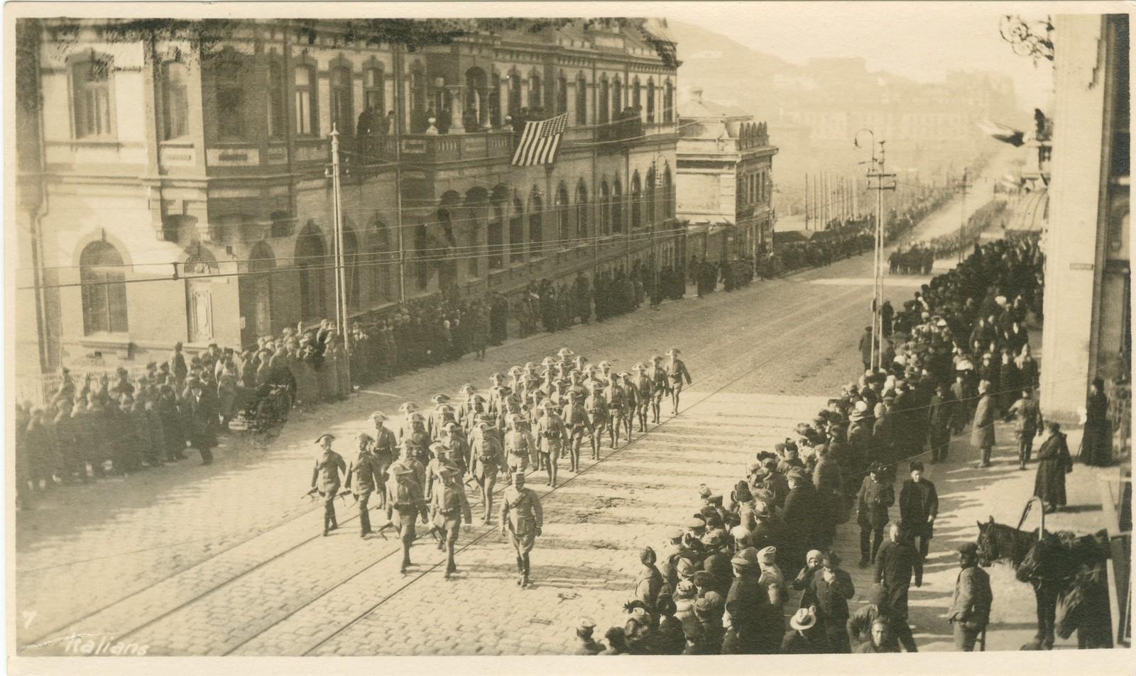 21.1918. Италия прислала на Дальний Восток воинскую часть с вычурным названием «Легион освобождения Сибири». 15 ноября