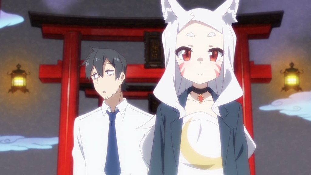the helpful fox senko san you smell like another kitsune shiro nakano