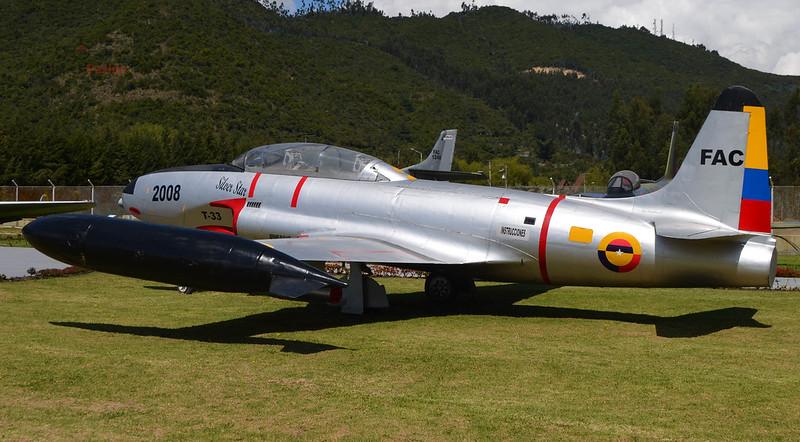 FAC 2008 Lockheed T-33A Shooting Star