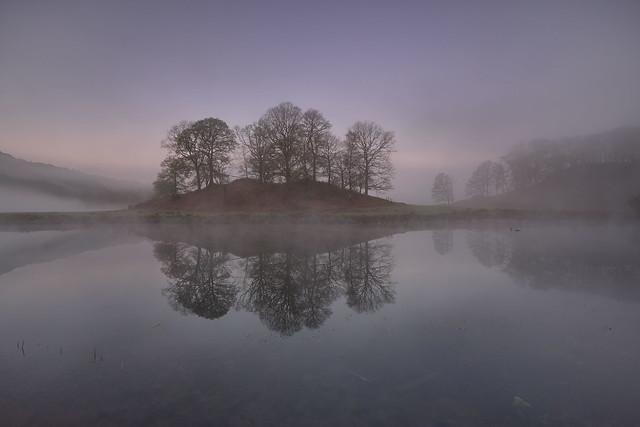 Misty knoll