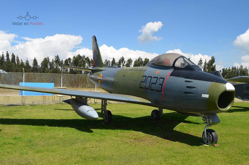 FAC 2023 North American F-86F