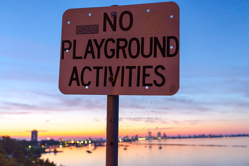 No Playground Activities Sunset