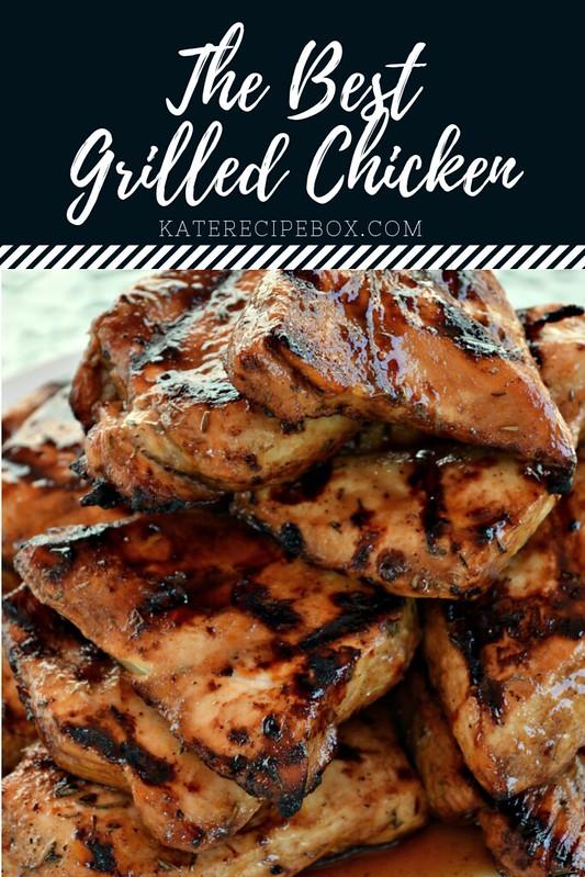 The Best Grilled Chicken