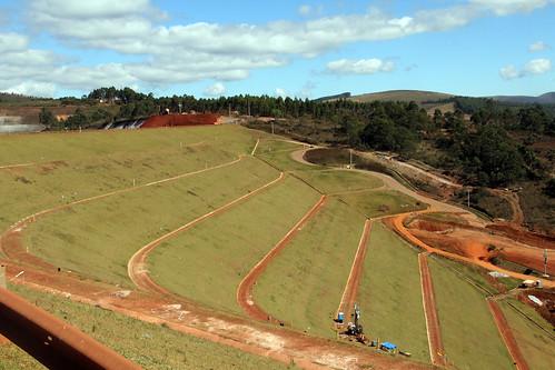 Visita técnica -  Vistoriar a Mina do Pico - Barragem Maravilhas II, em Itabirito-MG, verificar as condições de segurança e estabilidade da barragem de rejeitos de mineração - Comissão Parlamentar de Inquérito