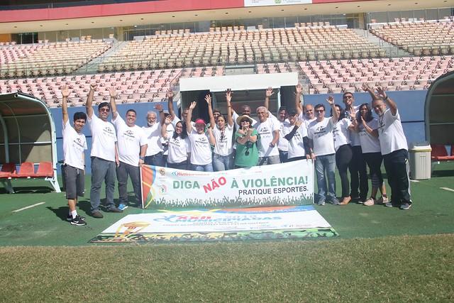 Equipe da Escola Municipal Nossa Senhora das Graças leva o título de campeã do Futebol de Infantil das Municipíadas.