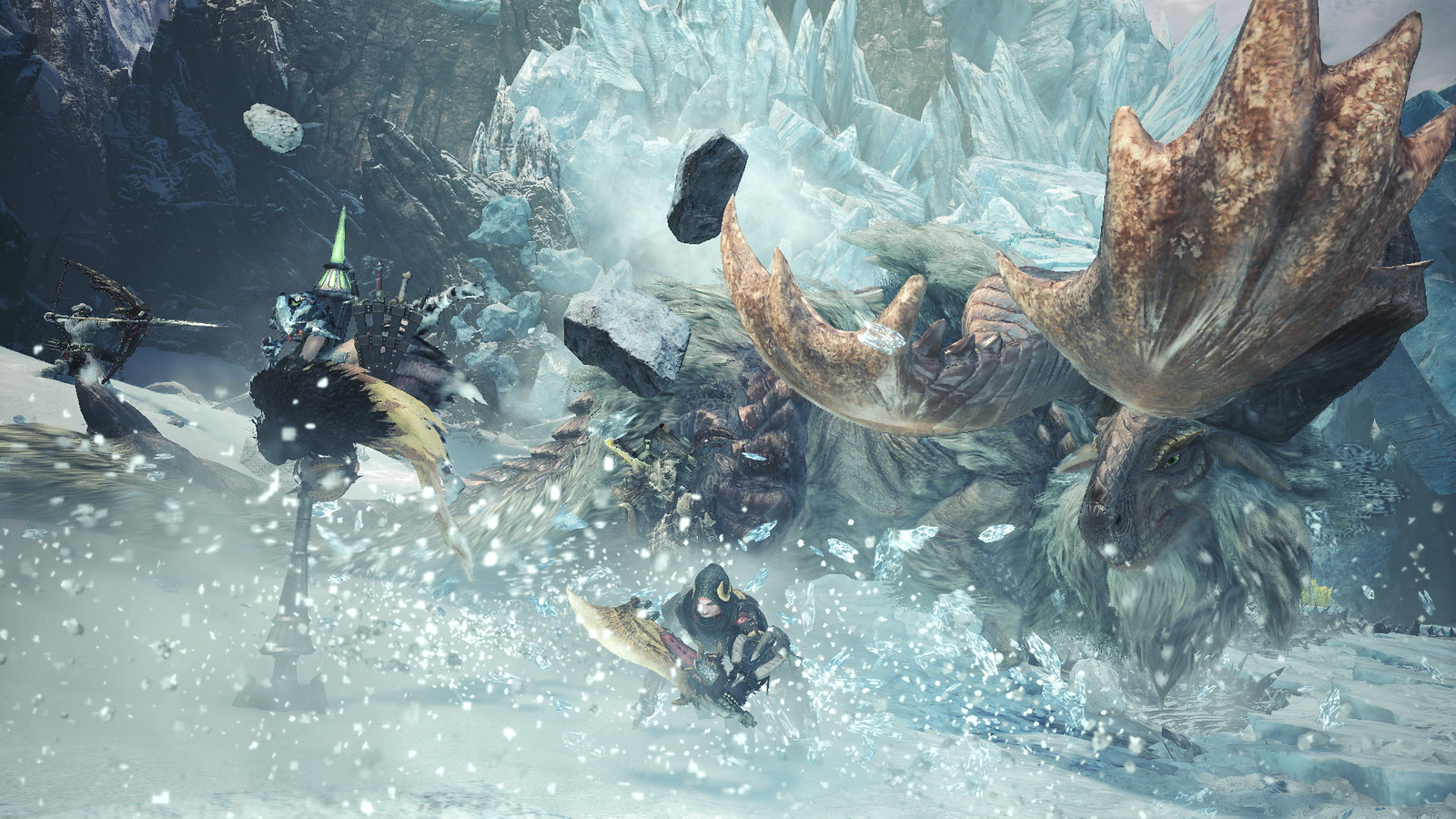 Monster Hunter World: Iceborne Beta on PS4