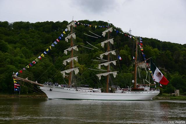 Cuauhtémoc trois-mâts barque mexicain