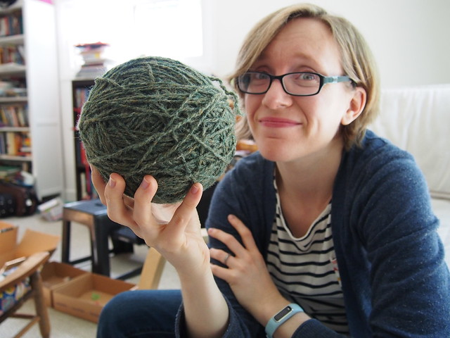 A big ball of yarn