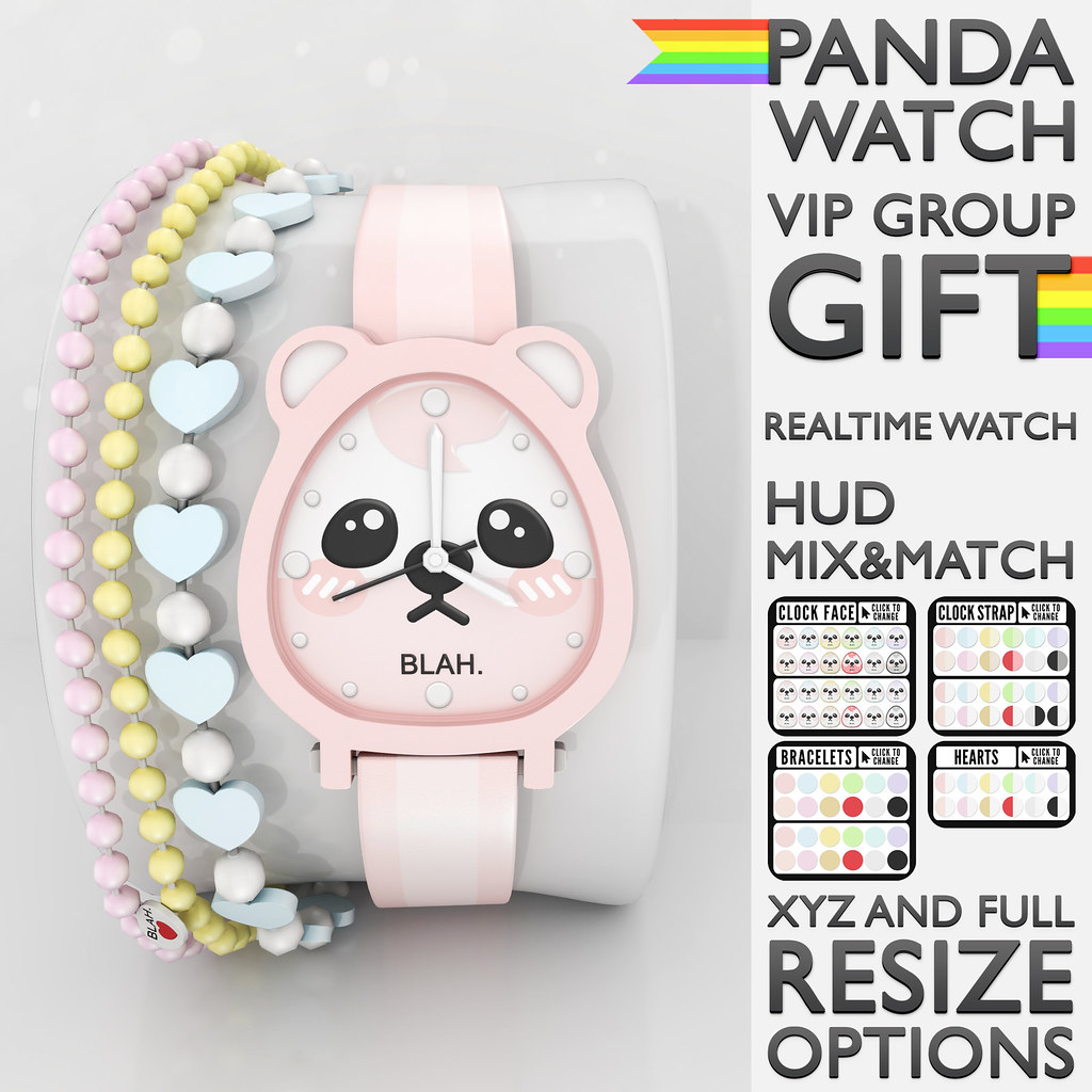 Blah. VIP Group Gift / Panda Watch ♥ - TeleportHub.com Live!