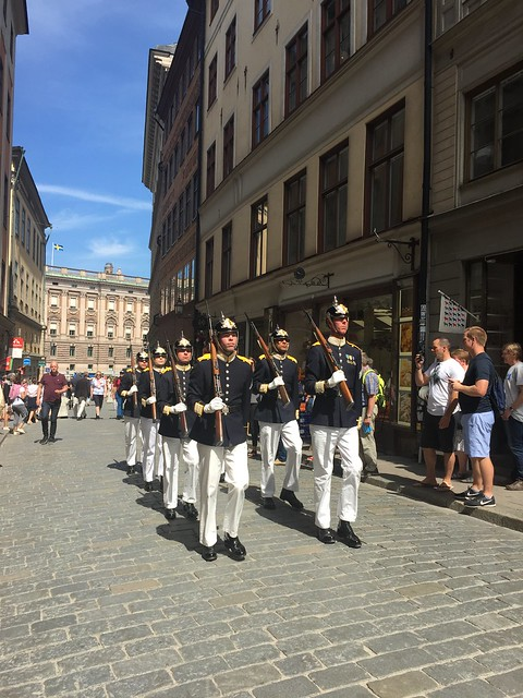 Change of guard in Stockholm