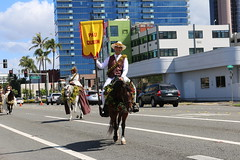 Hawaiian Electric at the 103rd annual King Kamehameha Floral Parade — June 8, 2019: The parade traveled across Ala Moana Boulevard before entering Waikiki, then all the way to Kapiolani Park.