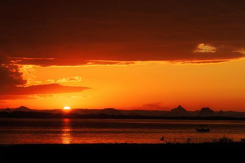 sunset goldenhour sea mountains birds ocean banksiabeach kakadureserve bribieisland queensland australia nikond850 nikon2401200mmf40