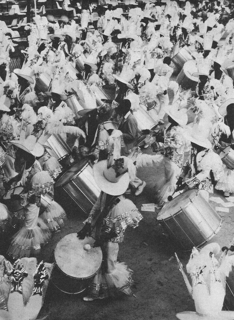 Carnaval, Rio de Janeiro, 1987, Sambódromo, Unidos da Tijuca, Bateria
