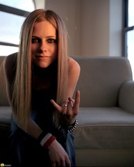 Avril Lavigne Devil Horns 8